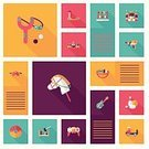 Fun,Single Object,Childhood,Backgrounds,Cute,Education,Application Software,UI,Multi Colored,Teddy Bear,Ilustration,Vector,Toy,Child,Bear,Car,Train,Collection,Learning