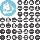Brigantine,Fishing Ship,Passenger Ship,Inflate Boat,Luxury,Ilustration,Helicopter,Cruise Ship Icon,Boat Icon,Collection,Boat Trailer,Container Ship,Nautical Vessel,Vector,Transportation,Speedboat,Sail Ship,Sailboat,Yachting,Sea,Navy,Sign,Symbol,Vacations