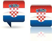 Croatia,Croatian Flag,Flag,Speech Bubble,Europe,Sign,Interface Icons,Shiny,Travel Locations,Landmarks,Vector Icons,Illustrations And Vector Art,Symbol,Vector,Computer Icon,National Flag