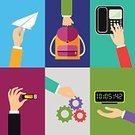 Backpack,Flat,Internet,Human Finger,Design,Holding,Human Hand,Getting Dressed,People,Symbol,Gesturing,Insignia,Ilustration,Office Interior,Suit,Thumb,Isolated,Digital Display,Paper,Gear,Giving,Action,Collection,Computer Icon,Icon Set,Set,Ornate,Pointing,Business,Touching,Web Page,Technology,Wheel,Vector,Stick - Plant Part,Clock,Telephone,Design Element,Scrapbook,USB Cable