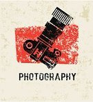 Camera - Photographic Equipment,Red,Illustration,No People,Vector,Photography Themes
