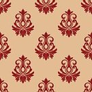 Backgrounds,Vector,Ilustration,Abstract,Ornate,Royalty,Classic,Silhouette,Computer Graphic,Style,Flourish,Old-fashioned,Retro Revival,Decoration,Pattern,Floral Pattern,flourishes,Seamless,Victorian Style,Elegance
