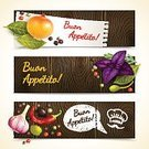 Merchandise,Label,Business,Bookmark,Backgrounds,Ornate,Pepper,Spice,Garlic,Rosemary,Basil,Red,Vegetable,Vector,Seed,Caper,Nature,Food And Drink,Herb,Seasoning,Olive,Chili Pepper,Leaf,Sale,Marketing,template,Design Element,Set,Collection,Isolated,Food,Plan,Onion,Black Color,Organic,Colors,Ilustration,Scented,Freshness,Ingredient,White,Cooking,Horizontal