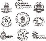 Bakery,Sign,Vector,Badge,Freshness,Cream,Gourmet,Cake,Hole,Design,Insignia,Banner,Cupcake,Black Color,Label,Coffee - Drink,Restaurant,Style,Set,Menu,Party - Social Event,Refreshment,Snack,Ribbon,Cup,Cafe,Pastry,Glazed,Donut,Business,Ilustration,premium,Postage Stamp,Isolated,Chocolate,Food,Syrup,Breakfast,Design Element,Berry Fruit,Fruit,Dessert,Candy,Symbol