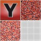 Alphabet,Alphabetical Order,Mosaic,Letter Y,Set,Puzzle,Square,Mystery,Chaos,Square Shape,Confusion,Pattern,varicolored,irregularity,Multi Colored,Seamless