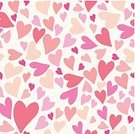 Valentine's Day - Holiday,Heart Shape,Youth Culture,Large Group of Objects,Holiday,Red,Vector,Wallpaper,Pattern,Love,Pink Hearts,Magenta,seamless pattern,Pink Color,Romance,Backgrounds