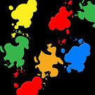 Splashing,Backgrounds,spatter,template,Colors,Splattered,Blob,Abstract,Backdrop,Multi Colored