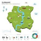 Country - Geographic Area,Ilustration,Symbol,Recycling Symbol,Infographic,White Background,Suriname,Sign,Set,Concepts,Drinking Water,Vector,Design,Computer Icon,Abstract,Computer Graphic,Flat