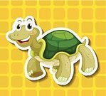 Polka Dot,Livestock,Backgrounds,Standing,Rural Scene,Agriculture,Vector,Crawling,Tortoise,Close-up,Sitting,Wet,Clip Art,Computer Graphic,Turtle,sheel,Reptile,Animal,Freshwater,Nature,Lifestyles,Mammal,Label