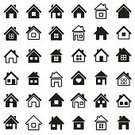 House,Symbol,Computer Icon,Outline,Ilustration,Cottage,Black Color,Construction Industry,Apartment,Urban Scene,Built Structure,Office Building,Station,Collection,White,Architecture,Set,Isolated,Building Exterior,Backgrounds,Facade,Design Element,Window,Art,Roof,Vector,Mansion,Residential District,Design,Sign