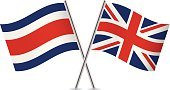 Vector,Sign,Curve,England,Banner,Pole,Isolated On White,Britain Flag,British Flag,White Background,Two Objects,Flag,Computer Icon,Symbol,Costa Rican Flag,Costa Rica,Small,Ilustration,USA,The Americas,Waving,National Flag