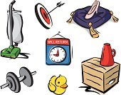 Vacuum Cleaner,Dumbbell,Weights,Crate,Cushion,Target,Sign,Rubber Duck,Arrow,Arrival,Will,Tassel,ducky,Slipper,Isolated Objects,Objects/Equipment,Illustrations And Vector Art,Household Objects/Equipment,Megaphone,St. Mark,Rubber,Glass - Material