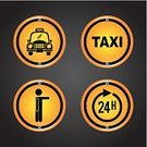 Travel,Traffic,Insignia,Symbol,Sign,Urban Scene,Street,Concepts,Journey,Design Element,Tourism,Business,Road Sign,Billboard,Ilustration,Taxi,Speed,Image,Engine,People,Service,Transportation,Label,Vector,Car,Driver,Checked