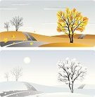 Winter,Road,Snow,Landscape,Hill,Tree,Autumn,Vector,Covering,Non-Urban Scene,Urban Scene,Above,Ilustration,Farm,Cloud - Sky,Horizon,Field,Painting,Cloudscape,Leaf,Morning,Lawn,Sun,Land,Season,Lane,Outdoors,Nature,Day,Sky,Agriculture,Dawn,Travel Locations,Landscapes,Nature,Serene People,Tranquil Scene,Illustrations And Vector Art