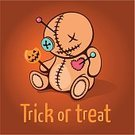 Horror,Doll,Candy,Magic Trick,Halloween Card,Trick Or Treat,Halloween,Human Face,Threats,Voodoo,Witchcraft,Ugliness,Concepts,Sadness,Illustrations And Vector Art,Sewing,Heart Shape,Puppet,Voodoo Doll,Thread,Toy,Lollipop,sugarplum,Smiley Face,Sewing Needle,Straight Pin,Punishment,Cute,Pumpkin,Vector,Holiday,Burlap,Button,Cartoon,Anger
