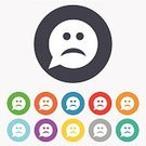 Ilustration,Label,People,Computer Graphic,Geometric Shape,Red,Sadness,Yellow,Token,Symbol,Sign,Human Face,Emotion,Application Software,Backgrounds,Shape,Speech,template,Badge,Blue,Cute,Creativity,Multi Colored,Circle,Vector