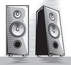Boom Box,Acoustic System,Classical Music,Modern Music,Music,Rock and Roll,Engraved Image,Electrical Component,Electro,Amplifier,Modern,Symbol,Pop,Sound,Equipment,Black Color,Entertainment Center,Sound Wave,Black And White,Entertainment,Electrical Equipment,Audio Equipment,Speaker,Treble,Bass,Stereo