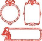 Frame,Goat,Chinese New Year,Chinese Ethnicity,Chinese Culture,Picture Frame,Traditional Festival,Vector,Red,new year day,East Asian Culture,Symbol,Chinese Zodiac Sign,Pattern,Sheep,Design,Astrology Sign,Zodiac Earth Sign,Young Animal,Animal,Mid-Autumn,paper cut,Blossom