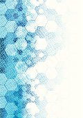 Blue,Pattern,Binary Code,Hexagon,Backgrounds,Technology,Abstract