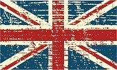 British Flag,British Culture,Flag,UK,Distressed,Grunge,Damaged,Faded,Old,Textured,Vector,Objects/Equipment,Illustrations And Vector Art,Ilustration,Textured Effect
