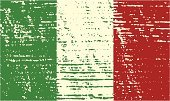 Italy,Flag,Vector,Ilustration,Grunge,Distressed,Old,Objects/Equipment,Illustrations And Vector Art,Textured Effect,Textured,Faded