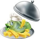 Holding,Vector,Chef's Hat,Trout,Bass,Characters,Open,Cute,Cartoon,Animated Cartoon,Serving,Food Service Occupation,Cooking,Elegance,Striped Bass,Tray,French Culture,Prepared Potato,Fish and Chips,Silver - Metal,One Person,Prepared Fish,Cheerful,Drawing - Art Product,Cod,Serving Dish,Mascot,Fish,Chef,Fun,Chrome,Isolated,Trout,Dining,Restaurant,Seafood,Luxury,Opening,Cloche Hat,French Fries,Cold Frame,Metal,Food And Drink Industry,Sea Bass,Fast Food French Fries,Frys,Food,Hat,People,Covering,Carp,Plate,Dome,Ilustration,Sea,Cod,Friendship,Silver Colored