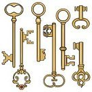 Skeleton Key,Color Image,Computer Graphic,Sign,Ink,Antique,Collection,filigree,Victorian Style,Old-fashioned,White Background,No People,Unlocking,Treble Clef,Sacral,Variation,Connection,Strength,Ilustration,Image,Vector,Clip Art