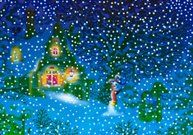 Christmas,Village,Snowman,Drawing - Art Product,Cartoon,Paintings,Snow,Night,Ilustration,Wood - Material,Preschool,Childhood,Winter,Forest,Season,Image,Woodland,Rural Scene,Snowing,Snowdrift,new-year,Humor,hand drawing,Holiday Card,New Year's,Holidays And Celebrations,Architecture And Buildings,Cultures,Childishness,winter vacation,Christmas,Homes,winter night,winter landscape,kiddish,rural house,Snowflake