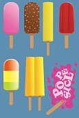 Flavored Ice,Melting,Industry,Summer,Snack,Frozen,Ilustration,Vector,yummy,Tasting,Ice Cream,Food,Cold - Termperature,Cool,Seasoning,Freshness,Sweet Food