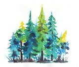 Nature,Tree,wonders,Year,Humor,Land,Christmas,Forest,Ink,Art Product