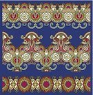 Decor,Decoration,Ornate,Embroidery,Silk,Collection,Tracery,Symmetry,Carpet - Decor,Eternity,Textile,Pattern,Pinstripe,Repetition,Tapestry,Leaf,Ilustration,Fashion,Carving - Craft Product,Computer Graphic,Vector