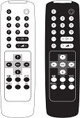 Remote Control,Silhouette,Television Set,Control,Number,Technology,Outline,Black Color,Computer Keyboard,White,Ilustration,Vector,Equipment,Plastic,Electronics,Vector Cartoons,Communication,Contour Drawing,Infrared Lamp,Isolated-Background Objects,Technology,Isolated Objects,Isolated,Wireless Technology,Electricity,Power Supply,Illustrations And Vector Art,Shiny