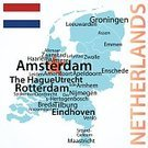 Nederland,Cartography,Map,Netherlands,Amsterdam,Germany,Travel,Island,Belgium,Rotterdam,Maastricht,Tourism,Ilustration,City,Dutch Ethnicity,Dutch Culture,Europe,White Background,Physical Geography,People,European Union,state,Orange Color,Haarlem,Benelux,Travel Location,Eindhoven,The Hague,Western Europe,Vector,region,Journey,No People,Text,Flag,municipality,Town,Country - Geographic Area,International Border,Dutch Flag