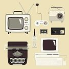 Old-fashioned,Retro Revival,Obsolete,Flat,Television Set,Senior Adult,Television Broadcasting,Mobility,Surveillance,Computer Monitor,Design,Visual Screen,Computer,Portable Information Device,Collection,Leisure Games,Classic,Video Game,Computer Icon,Symbol,Radio,Clock Hand,Antenna - Aerial,Joystick,PC,Equipment,1940-1980 Retro-Styled Imagery,Single Object,Vector,Telephone,Floppy Disk,Technology,Audio Cassette,Electronics Industry,Ilustration,Internet,Advice,Speaker,Electrical Equipment,Play,Information Medium,Hipster,Typewriter,Set,IBM,Data,Audio Equipment,Recording Studio,Office Building,Nostalgia,Office Interior,Computer Keyboard,Sound,Video
