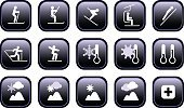Ski,Symbol,Skiing,Ski Lift,Sport,Icon Set,Winter,Elevator,Cross-country Skiing,Winter Sport,Mountain,Snowboard,Vector,Gondola,Jumping,Set,Snow,Snowboarding,Heat - Temperature,Condition,European Alps,Ski Jumping,Cold - Termperature,Weather,Hill,Interface Icons,Activity,Thermometer,Temperature,Ilustration,Sun,Meteorology,Moving Down,Cloud - Sky,Slalom Skiing,Overcast,First Aid,First Aid Sign,Illustrations And Vector Art,Vector Icons,Individual Sports,Sports And Fitness,Sports Symbols/Metaphors