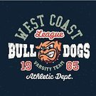 Bulldog,Sports Team,Sign,Baseball - Sport,Poster,Old-fashioned,University,Athlete,Office Interior,Coat Of Arms,Soccer,Badge,Fashion,Print,Tee,Ilustration,Sports Uniform,Jersey,Clothing,West - Direction,Old,Sports League,Logo Vector,Computer Graphic,Grunge,premium,American Football - Sport,Coastline,Insignia,Textured Effect,Mascot,Symbol,Label,Education,varsity,Sport,Team,Vector,Forbidden,Typescript,Organized Group,T-Shirt,Logo Design,Dog,East,1940-1980 Retro-Styled Imagery,Shirt