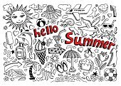Summer,Line Art,Symbol,Sunglasses,Hat,Bird,Airplane,Dolphin,Hello Summer,Sunset,Vector,Ice Cream,Collection,Beach,Sign,Ink,Outline,Incomplete,Doodle,Vacations,Sea,Computer Graphic,Cocktail