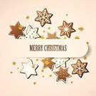 Brown,Christmas,Gingerbread Cookie,Gift,Fun,Happiness,Food,Icing,Sweet Food,White,Snack,Love,Dessert,Holiday,Decoration,Season,Star Shape,Vector,Winter,Ilustration,Baked,Cultures,Cookie,Celebration,Candy,Gourmet