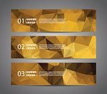 polygonal,Text Messaging,Vector,Two-dimensional Shape,Design,Banner,Brown,Multi Colored,Abstract