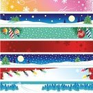 Christmas,Banner,Winter,Christmas Lights,Panoramic,Internet,Placard,Web Page,Backgrounds,Marketing,Snow,Tree,Grunge,Forest,Pine Tree,Web Banner,Vector,Branch,Red,Christmas Decoration,Horizontal,Snowing,Computer Graphic,Christmas Ornament,Decoration,Snowflake,Moon,Celebration,Commercial Sign,Abstract,Ilustration,Rural Scene,Copy Space,Christmas,Illustrations And Vector Art,Holidays And Celebrations,Holiday Backgrounds