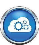 Abstract,Computer Icon,roundal,Working,Action,Gear,Vector,Concepts,Cloud Technology