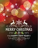 Christmas,Holiday,Greeting Card,Backgrounds,Christmas Decoration,Christmas Card,Swirl,Reindeer,Holly,Winter,Decoration,Bright,Illuminated,Christmas Lights,Brightly Lit,Vibrant Color,Snowflake,Snow,Vector,Ornate,Glowing,Defocused,Shiny,Flowing,Multi Colored,filigree,Vertical,Sign,Copy Space,Ilustration