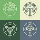 Tree,Symbol,Computer Icon,Circle,Sign,Abstract,Outline,Single Line,Vector,Environment,Organic,Badge,Computer Graphic,Green Color,Environmental Conservation,Biology,Design Element,Backgrounds,Single Flower,Leaf,Label,Insignia,Flower,Simplicity,Nature,Text,Contour Drawing,Concepts,Identity,template,Bush,Sparse,Business,Design,Ideas,Growth