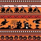 Halloween,Backgrounds,Symbol,Vector,Black Color,Sign,Werewolf,Seamless,Grave,Pattern,Backdrop,Pumpkin,Fear,Horror,Wolf,Undomesticated Cat,Spooky,Human Skull,Traditional Festival,Decoration,Wallpaper Pattern,Orange Color,Moon,Devil,Ugliness,Cemetery,Vampire,Bat - Animal