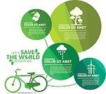 Sign,Organic,Planet - Space,Pollution,Nature,Poster,Recycling,Tree,Symbol,Sphere,Leaf,Data,Backgrounds,Technology,Vector,Environment,Computer Graphic,Ilustration,Growth,Infographic