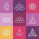 Yoga,Symbol,Computer Icon,Single Line,Zen-like,Spirituality,Exercising,Meditating,Sport,Healthy Lifestyle,Lotus Position,Buddha,Leaf,Floral Pattern,Sign,Drawing - Art Product,Vector,Design,Healthcare And Medicine,The Human Body,Ideas,Ilustration,Relaxation,Outline,Text,Concepts,Ornate,Label,Energy,People,Lifestyles,Silhouette,Harmony,Contour Drawing,template,Body,Design Element,Computer Graphic,Badge,Life,Balance,Insignia
