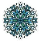 East Asian Culture,Wallpaper Pattern,Single Flower,Geometric Shape,Shape,Elegance,Style,Abstract,Colors,Outline,imagery,Doodle,Blue,Arabic Style,Swirl,Floral Pattern,Ornate,Ilustration,Leaf,Mandala,Decor,Symbol,mehandi,Ethnicity,Decoration,Cultures,Indian Culture,Backgrounds,Vector,Circle,Pattern,Snowflake