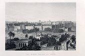 Chandni Chowk,Engraved Image,Old Fort,Built Structure,Etching,India,Castle,Delhi,Drawing - Art Product,Palace,City,Urban Scene,Architecture,Old Delhi,British Empire,Fort,19th Century Style,Delhi Jama Masjid Mosque,Building Exterior,Old-fashioned,Mughal Empire,History,Image Created 1850-1859,Victorian Style,Place of Work,Wall,Cityscape,Illustrations And Vector Art,Asia,Architecture And Buildings,Historical Document,Ilustration,Empire,Image Created 19th Century,Antique,Fortified Wall,Indian Culture,Travel Locations,Architectural Feature,Indian Subcontinent,Building Feature,Stone Wall,Architectural Styles,Indian Subcontinent Ethnicity,Art,Painted Image,Man Made Structure,Ancient Civilization,Surrounding Wall,Indian Mutiny