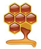 Liquid,Sweet Food,Nature,honeyed,Honeycomb,Bee,Honey,Ilustration,Flowing,Insignia,Symbol,Apiculture,Harvesting,Food,Computer Icon,Beehive,Sign,Vector,Isolated,Freshness,Organic,Ingredient,apiary,Hexagon,Beeswax,Healthy Eating