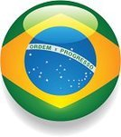 Brazil,Brazilian Flag,Flag,Interface Icons,Button,Symbol,Vector,Isolated On White,No People,Ilustration